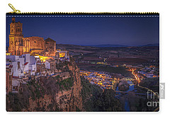 Arcos De La Frontera Panorama From Balcon De La Pena Cadiz Spain Carry-all Pouch