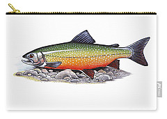 Arctic Char Male Carry-all Pouch