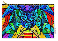 Arcturian Conjunction Grid Carry-all Pouch