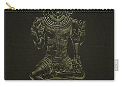 Carry-all Pouch featuring the drawing Ardhanarishvara I by Michele Myers