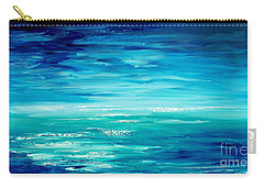 Carry-all Pouch featuring the painting Are We There Yet? by Tatiana Iliina