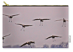Carry-all Pouch featuring the photograph Are You Sure This Is The Spot by Don Schwartz