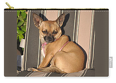 Are  You Talking To Me Carry-all Pouch by Jay Milo
