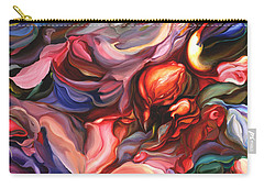 Aria - Acrylic On Canvas Carry-all Pouch