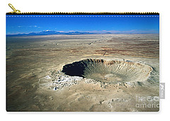 Arizona Meteor Crater Carry-all Pouch by Pg Reproductions