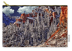 Arizona Secret Mountain Wilderness In Winter Carry-all Pouch
