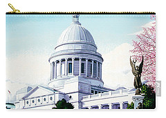 Arkansas Capitol Blossoms Carry-all Pouch