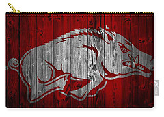 Arkansas Razorbacks Barn Door Carry-all Pouch by Dan Sproul