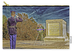 Arlington Cemetery Tomb Of The Unknowns Carry-all Pouch