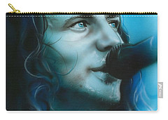 Eddie Vedder - ' Arms Raised In A V ' Carry-all Pouch by Christian Chapman Art
