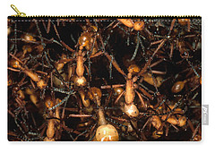 Army Ant Bivouac Site Carry-all Pouch by Gregory G. Dimijian, M.D.