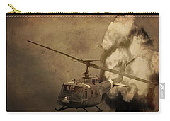 Army Helicopter Explosion Carry-all Pouch by Dan Sproul