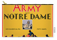 Army Vs Notre Dame 1932 Football Program Carry-all Pouch