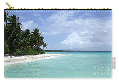 Carry-all Pouch featuring the photograph Arno Island by Andrea Anderegg