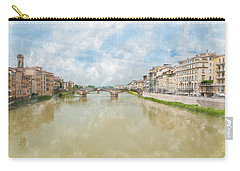 Arno River Florence Italy Carry-all Pouch