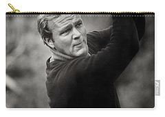 Arnold Palmer Pro-am Golf Photo Pebble Beach Monterey Calif. Circa 1960 Carry-all Pouch