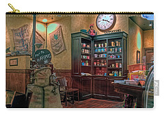 Carry-all Pouch featuring the photograph Aromas Coffee Shop Newport News Virginia by Jerry Gammon