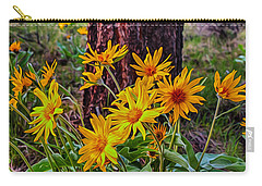 Arrowleaf Balsamroot Carry-all Pouch