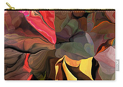 Carry-all Pouch featuring the digital art Arroyo  by David Lane