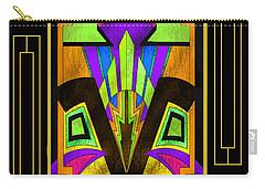 Art Deco - Design 5 B Mat Carry-all Pouch