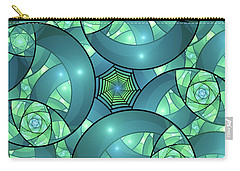 Carry-all Pouch featuring the digital art Art Deco by Gabiw Art
