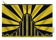 Art Deco Poster - Two Carry-all Pouch