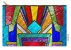 Art Deco - Stained Glass 6 Carry-all Pouch