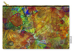 Art Glass Overlay Carry-all Pouch
