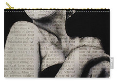 Art In The News 13-marilyn Carry-all Pouch
