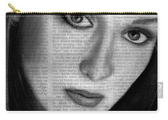 Art In The News 34- Meryl Streep Carry-all Pouch