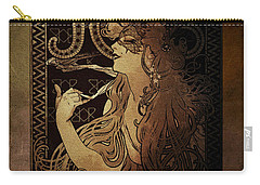 Art Nouveau Job - Masquerade Carry-all Pouch