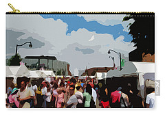 Art On The Square - Belleville Illinois Carry-all Pouch