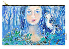 Artemis And The Wren- Carry-all Pouch