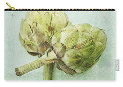 Artichokes Carry-all Pouch by Priska Wettstein