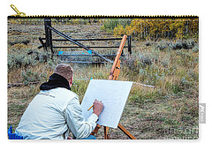 Artist Point Carry-all Pouch by Jim Garrison