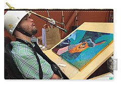 Artist Working Carry-all Pouch