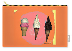 Artistic Ice Cream Carry-all Pouch