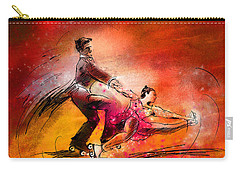 Artistic Roller Skating 02 Carry-all Pouch