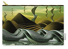 Carry-all Pouch featuring the digital art Artscape by John Alexander