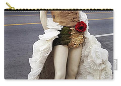 Artwork In The Loop Carry-all Pouch by Kelly Awad