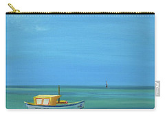Carry-all Pouch featuring the painting Aruba by Donna Tuten