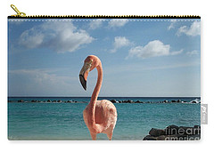 Carry-all Pouch featuring the photograph Aruba Hairy Eyeball by HEVi FineArt