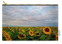 Carry-all Pouch featuring the photograph As Far As The Eye Can See by Ronda Kimbrow