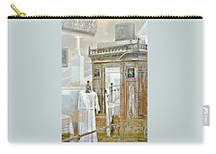 As Time Goes By Carry-all Pouch by Holly Kempe