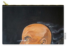 Carry-all Pouch featuring the painting As Vapor Gutural by Lazaro Hurtado