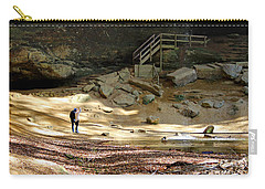 Ash Cave In Hocking Hills Carry-all Pouch