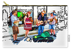 Asheville Buskers Carry-all Pouch