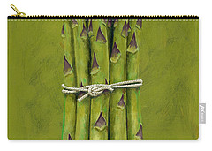 Asparagus Carry-all Pouch by Brian James