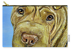 Beautiful Shar-pei Dog Portrait Carry-all Pouch