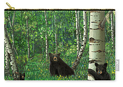 Aspen Bear Nursery Carry-all Pouch